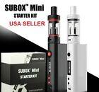 Subox Mini Starter Kit 50W VW Vape-Box Mod Ohm White Subtank Kbox No Battery