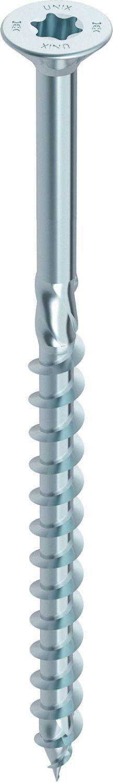 HECO-UNIX-top Holzschraube blau verzinkt Teilgewinde Senkkopf TX-Antrieb