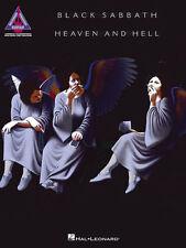 Black Sabbath Heaven & Hell Guitar Recorded Versions Tab Book NEW!