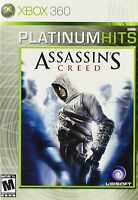 Assassin's Creed Xbox 360 Game 1st Version And Sealed