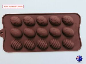 NEW AU Egg Easter Chocolate Cake Cookie Silicone Baking Mold Mould Decorating