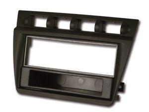 Pour-Kia-Picanto-Sa-Diaphragme-Autoradio-Cadre-de-Montage-Assemblage-1-DIN-Noir