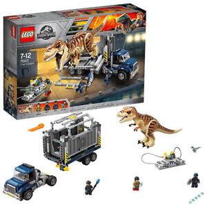 Lego Jurassic World T Rex Transport 75933