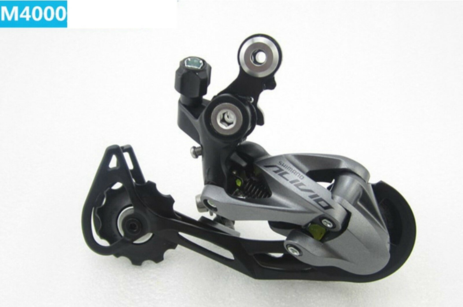 Shimano Alivio Rd M4000 9 Speed Mountain Bike Rear Derailleur Ebay Shadow 9speed