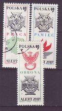 Polen Nr.  1928-30 gest.  Polnischer Pfanfinder Bund   -4-