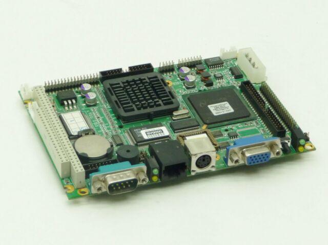Advantech Pcm-5820 Rev b2 19A6582001 SBC Board NS Geode 300mhz CPU 256mb RAM