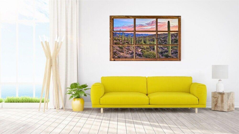 Cactées cactus Mural paysage nature Mural cactus Sticker Autocollant h1087 8b85d1