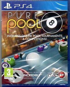 Pure-Pool-034-NUOVO-E-SIGILLATO-034-Gratis-P-amp-P-PS4-quattro