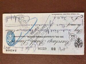 b1u-ephemera-cashed-barclays-bank-cheque-1947-july-62236-bb-24368