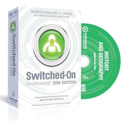 Switched On Schoolhouse American History /& Geography Grade 11 Software 2016 NEW!