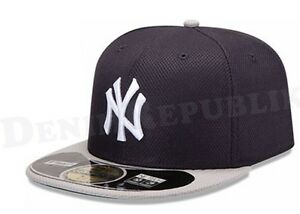 Details about New Era 5950 NY NEW YORK YANKEES RD MLB Diamond Era Cap  Batting Practice Fitted 9dc3ab9f7c40