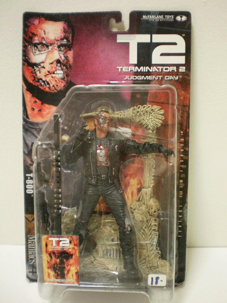 Movie Maniacs 4 T2 Terminator Figura