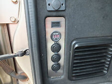 GU Patrol Panel Replacement Voltmeter, 2 x  12V Cigarette,1 x  USB Power Socket