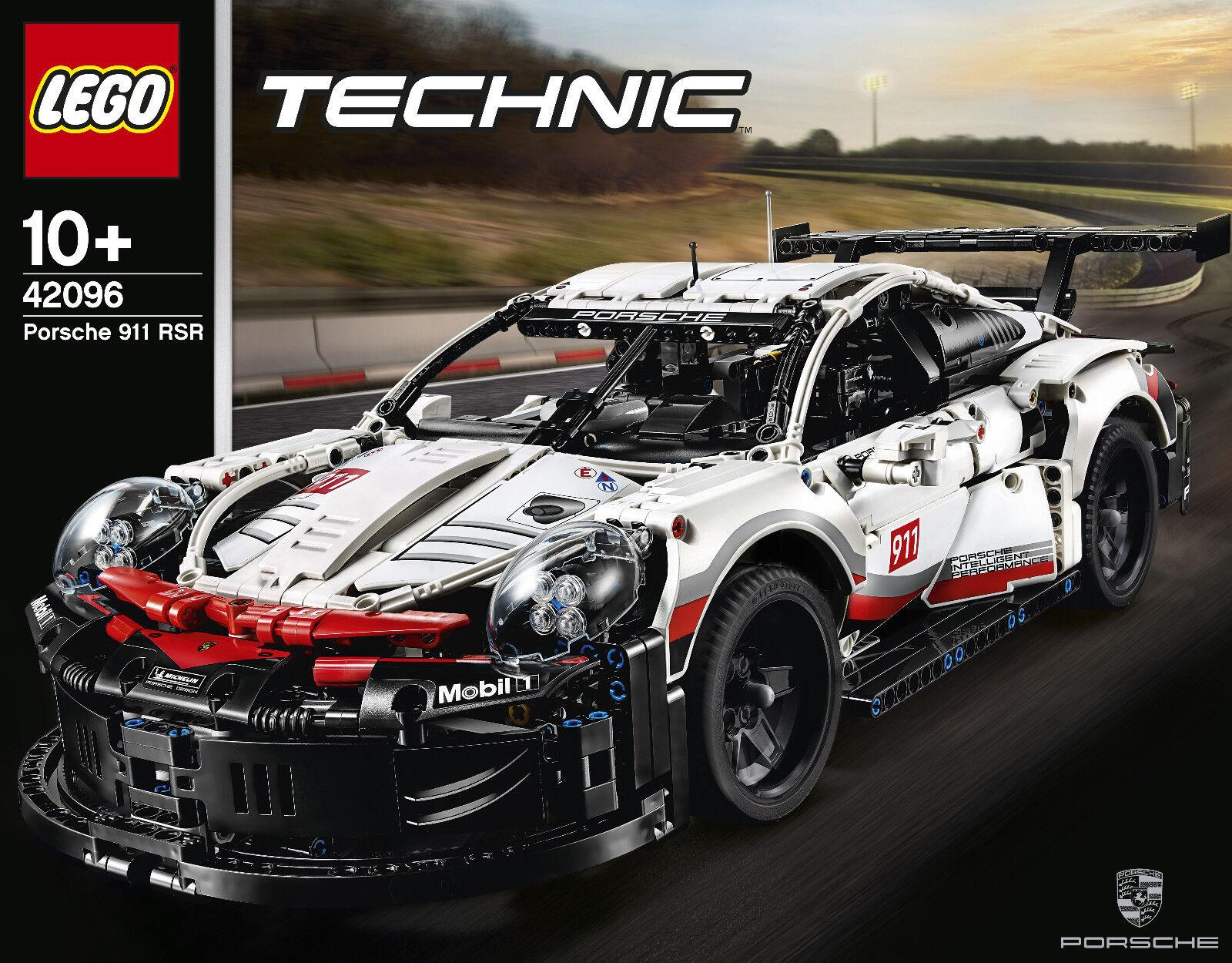 LEGO ® Technic  42096-PORSCHE 911 RSR, Nuovo Scatola Originale  al prezzo più basso
