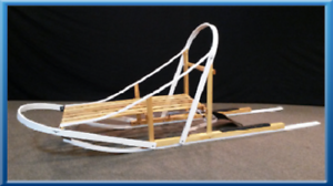 Glider-Dog-Sled-Wood-Wooden-Kit