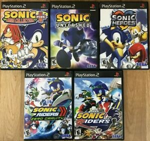 Sonic-games-PlayStation-2-PS2-TESTED