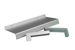 Aluminium Fensterbank silber EV1 210 mm Ausladung Außenfensterba<wbr/>nk aussen
