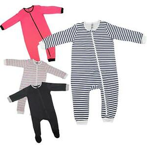 Kids Baby Girls Boys Rompers Toddlers Sleepsuits A2Z Onesie One Piece  Jumpsuits | eBay