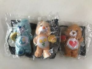 Mcdonalds-Care-Bears-X-3-2004-Happy-Meal-Sealed-Friend-Bedtime-Tenderheart