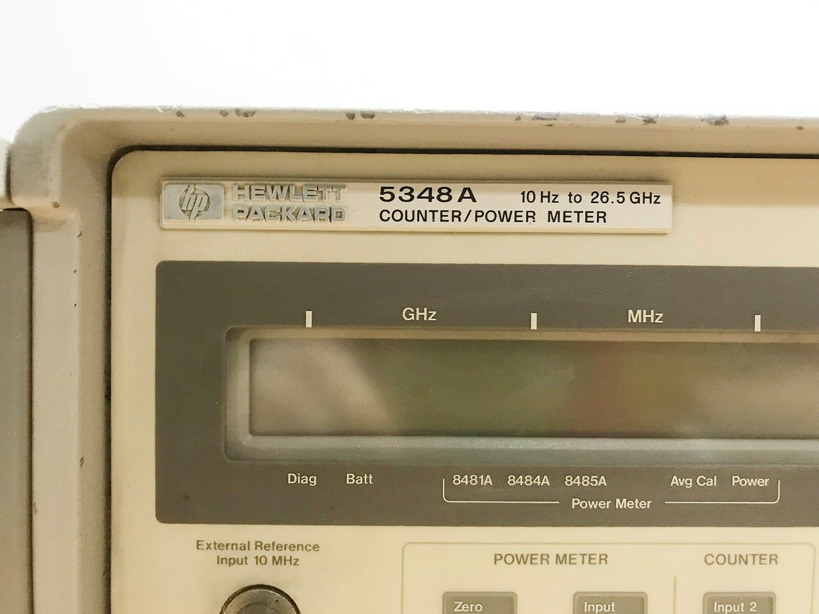 HP 5348A Counter//Power Meter 10Hz to 26.5GHz