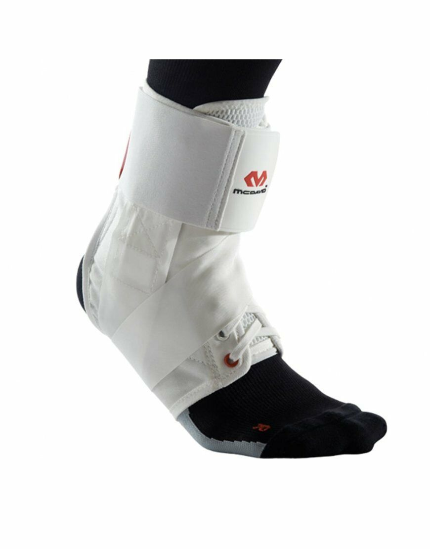 McDavid 195 Ultralite Ankle Support    Brace Lightweight Flexible - White DEAL  at the lowest price