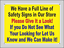 """NOTICE All Visitors Must Register at Office OSHA Safety SIGN 10/"""" x 14/"""""""