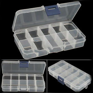 New Empty Storage Container Box Case for Nail Art Tips Rhinestone