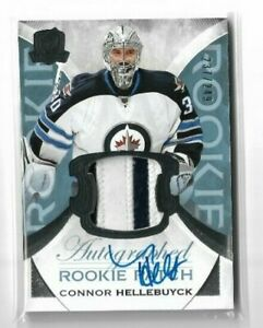 2015-16-THE-CUP-187-CONNOR-HELLEBUYCK-RC-JERSEY-AUTOGRAPH-ROOKIE-249-JETS
