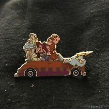 Disney HERCULES, PEGASUS, MEG in a Motor Parade Car Float WDW Pin