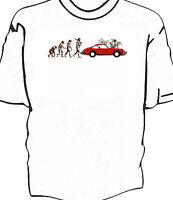 "Classic car 911 ""Evolution of Man to Carwashing"" t-shirt"