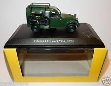 RARE ELIGOR CITROEN 2CV avec VELO 1954 POSTES POSTE PTT 1/43 LUXE BOX the last