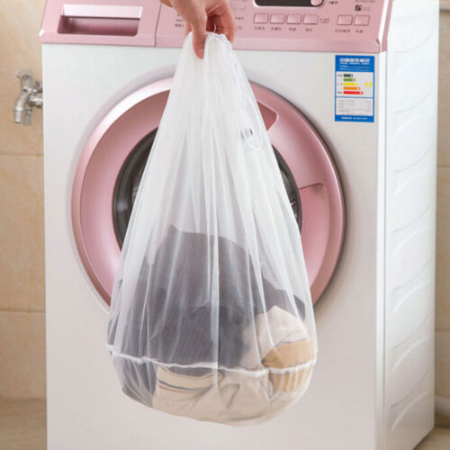 1XWashing Machine Used Mesh Net Bags Laundry Bag Large Thickened Wash BagsFEH