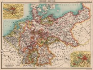 image is loading german empire states germany prussia hamburg berlin bartholomew