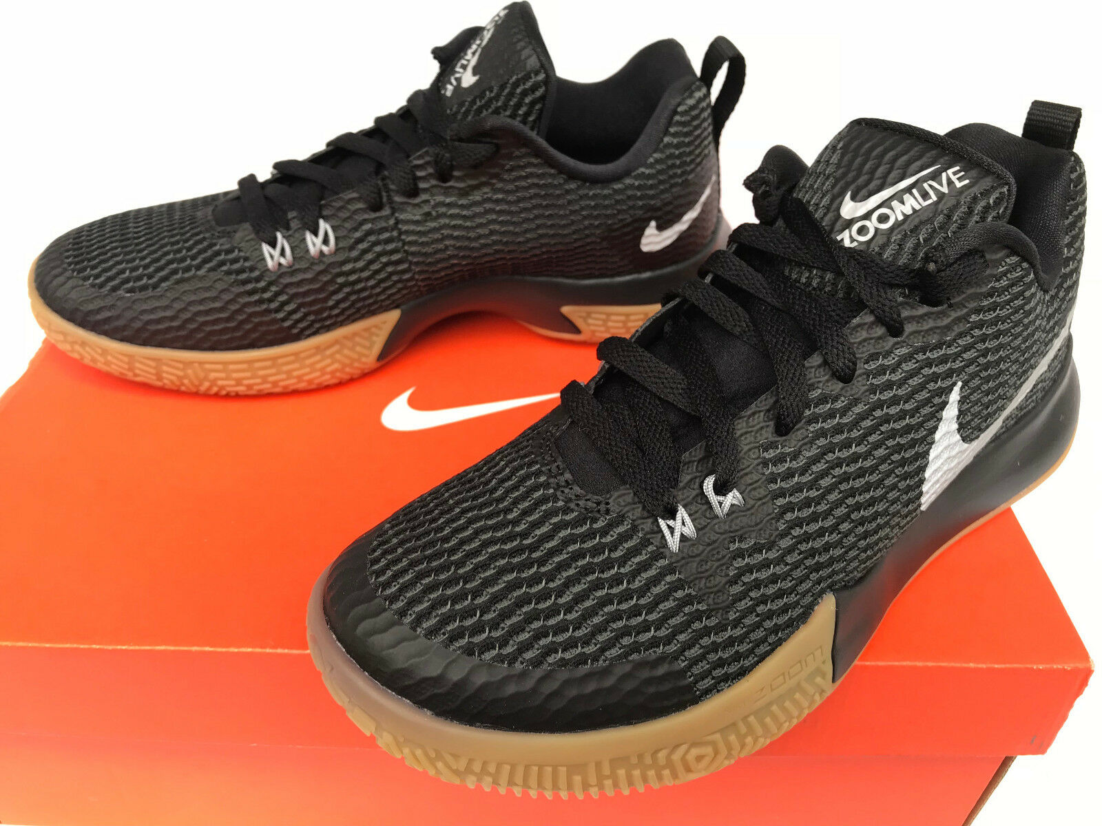 db22b1d87e Zoom Shift II AH7578-001 Gum ZoomLive Basketball shoes Women's 7.5 Black  Nike nytsed1926-Athletic Shoes