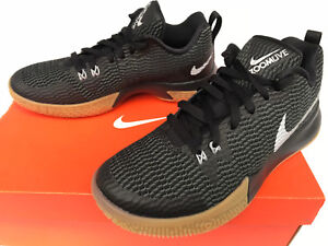 c18bc0bd70ce Nike Zoom Shift II Black AH7578-001 Gum ZoomLive Basketball Shoes ...