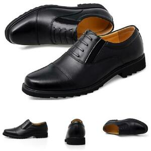 Mens Dress Formal Business Shoes Pointy Toe Oxfords Work Office Lace up Party L