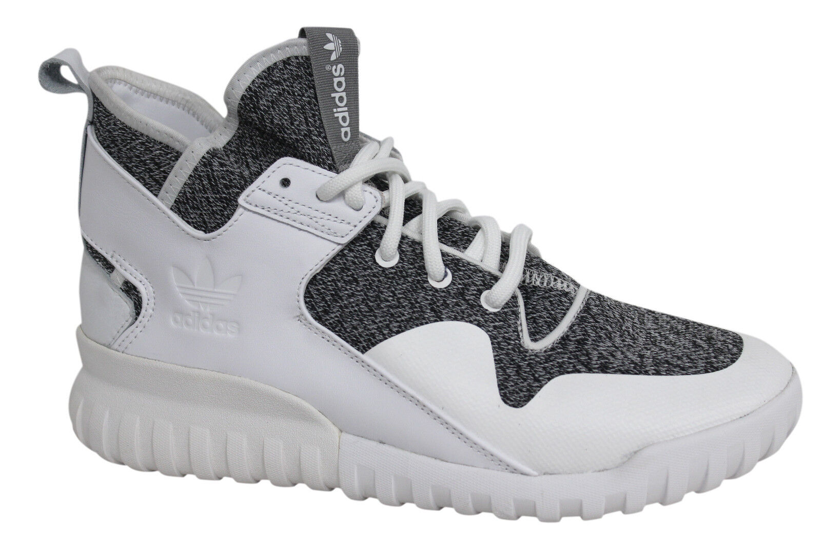 Adidas Originals Tubular X Lace Up White Grey Mens Trainers S74928 U4