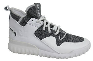Adidas Originals Tubular X Lace Up White Grey Mens Trainers S74928 M7