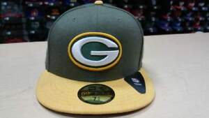 New Era NFL Green Bay Packers Heather Action 2Tone 59Fifty Fitted ... f7f3f7e7d