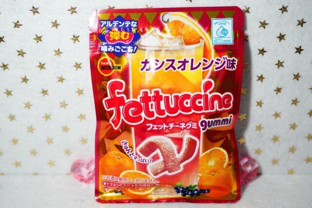 Bourbon Japan Fettuccine Cassis Orange Flavor Sour Gummi Gummy