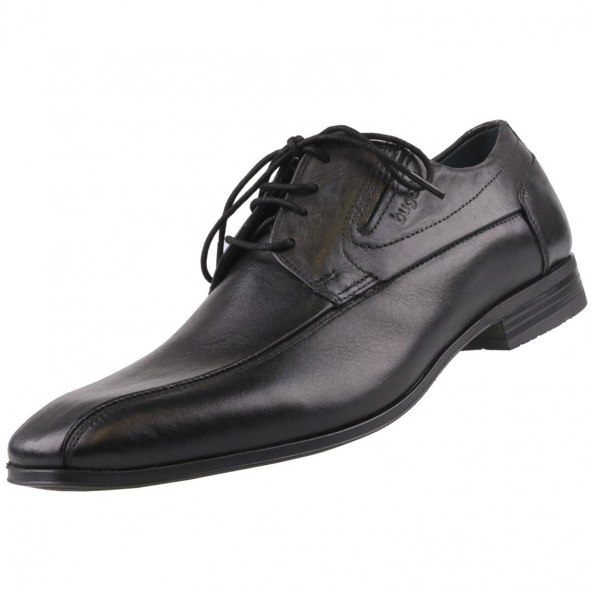 NEU Bugatti Halbschuhe Schuhe Herrenschuhe Business-Schuhe U1802-1 Schwarz