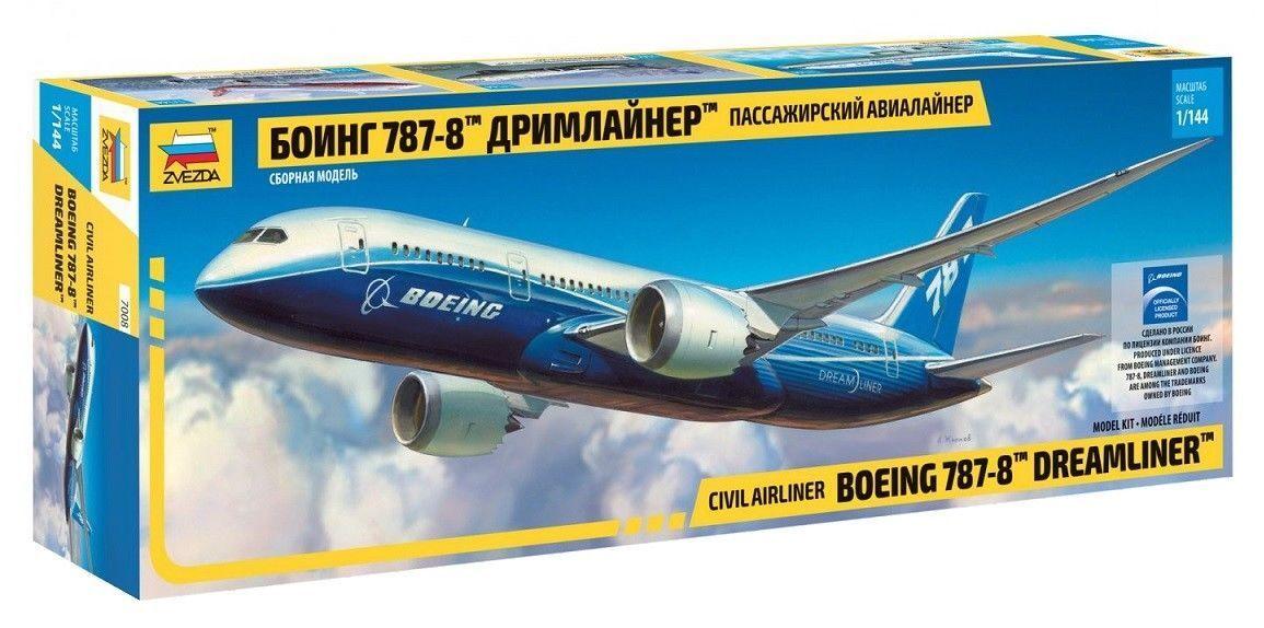 1 144 Zvezda Boeing 787-8 7008