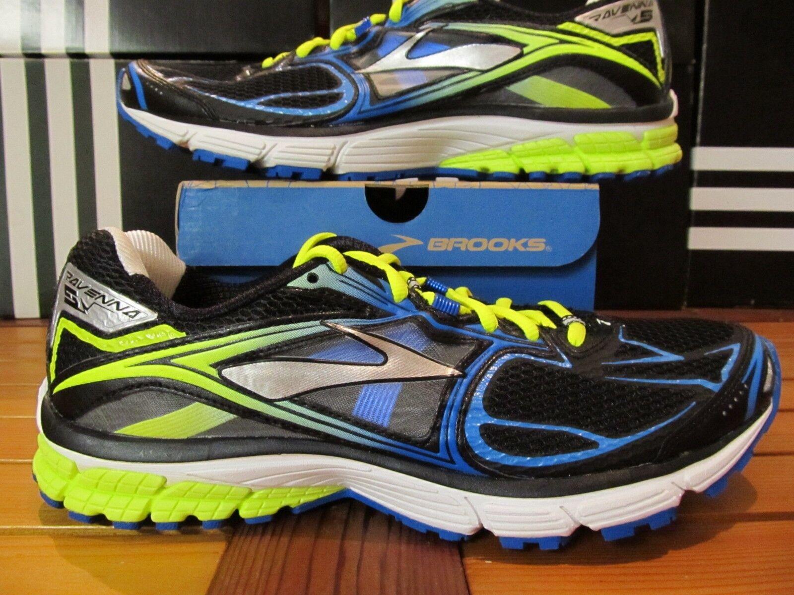 Brooks Ravenna 5 Voltios verde Neón Azul Negro 11.5 110156 1D 048 Calzado para Correr 7 6 8