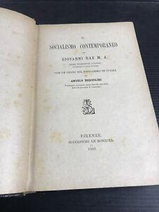 V23-Il-Socialismo-Contemporaneo-Giovanni-Are-Angelo-Bettolini-Firenze-1889