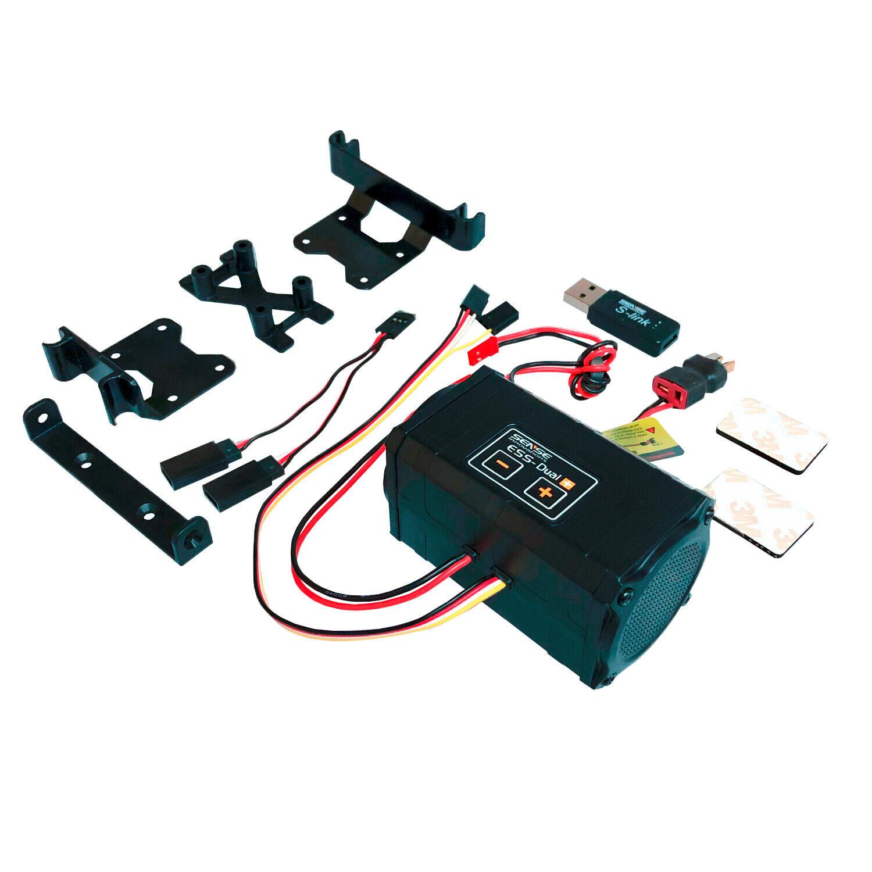 Motori rumore modulo ENGINE Sound System ESS-ONE Dual Plus per RC-Cars sense in