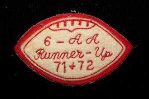 VINTAGE-1960-039-S-1970-039-S-SCHOOL-ALL-STATE-REGIONALS-RED-AND-WHITE-PATCH-4-1-2-034-X-3-034
