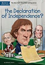 What is the Declaration of Independence? (pb)  by Michael C. Harris NEW