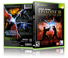 Xbox Game Star Wars Episode III Revenge of The Sith