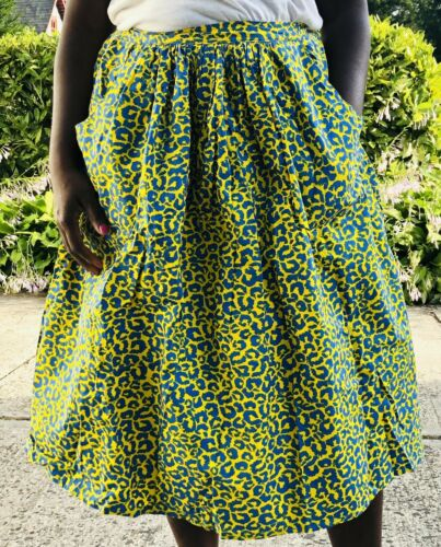 Ankara African Wax Print Dutch Wax Print midi full
