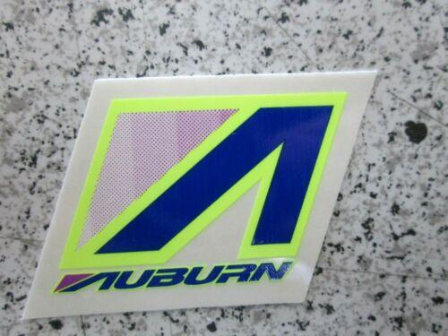 decal SEAT TUBE decals purple//blue//yellow Details about  /Vintage Auburn BMX frame sticker